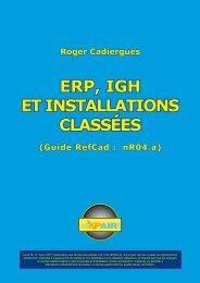 Roger Cadiergues ERP, IGH ET INSTALLATIONS CLASSÉES