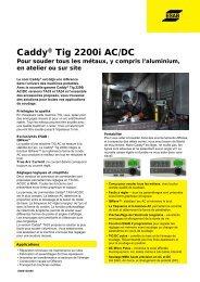 Caddy® Tig 2200i i AC/DC