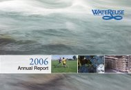 Annual Report - WateReuse Association