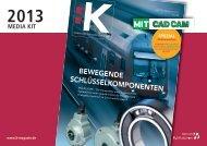BEWEGENDE SCHLÜSSELKOMPONENTEN - K Magazin