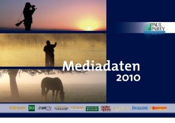 Mediadaten - Paul Parey Zeitschriftenverlag