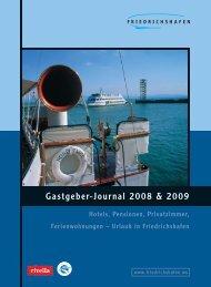 Gastgeber-Journal 2008 & 2009 - Friedrichshafen