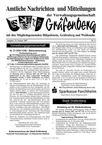 Verwaltungsgemeinschaft Stadt Gräfenberg