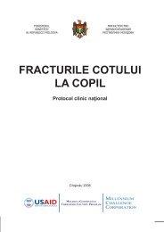 FRACTURILE COTULUI LA COPIL - Ministerul Sănătăţii