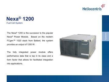 Nexa® 1200 - techno volt