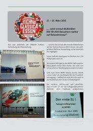 "21. – 25. März 2012 ""… setzt erneut Maßstäbe ... - BMW Z1 Club e.V."