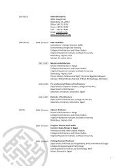 AKA Resume_2009 - School of Architecture + Design - Virginia Tech