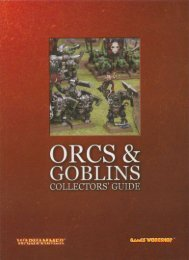 Games Workshop - Orcs & Goblins Collectors' Guide - Lski.org