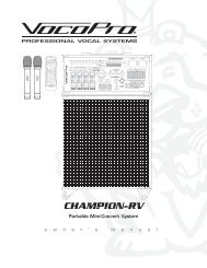 CHAMPION-RV AMPION - Full Compass