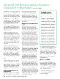 Living well with dementia: guidance for exercise ... - Vida Wellness - Page 5