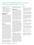 Living well with dementia: guidance for exercise ... - Vida Wellness - Page 6