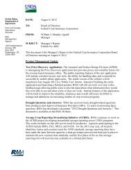 RMA-Headquarters Office Letterhead - Risk Management Agency