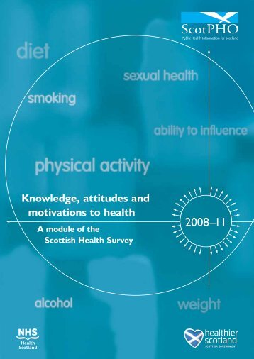 Knowledge, attitudes and motivations to health - Scottish Public ...