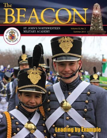 The Beacon Summer 2013, Volume 32, No. 2 - St. John's ...