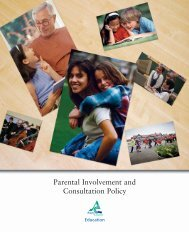 Parental Involvement and Consultation Policy - Angus Council
