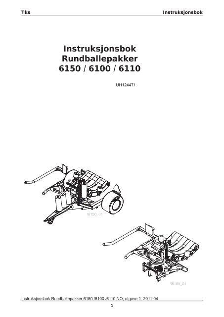 Ny Instr. bok 6150 Ballepakker.indd - TKS AS