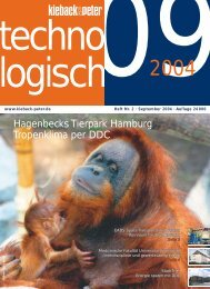 Technologisch 09/2004 - Kieback & Peter GmbH