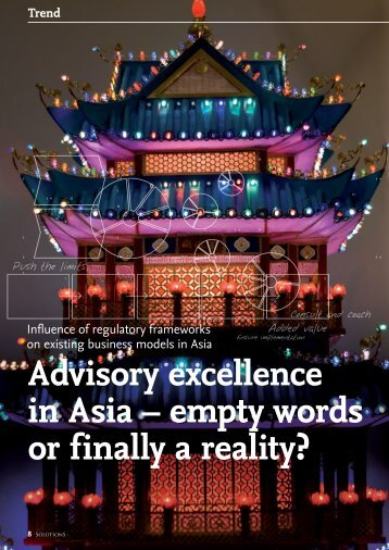 Advisory excellence in Asia – empty words or ... - solutionproviders