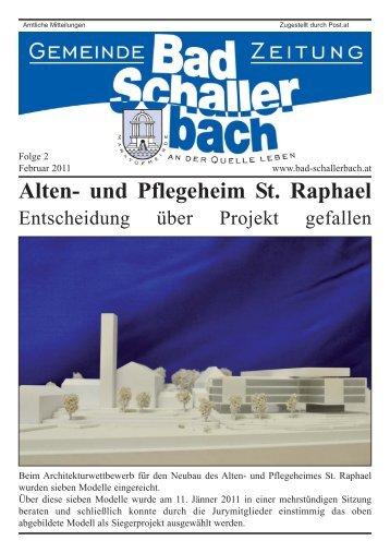 Alten- und Pflegeheim St. Raphael - Gemeinde Bad Schallerbach