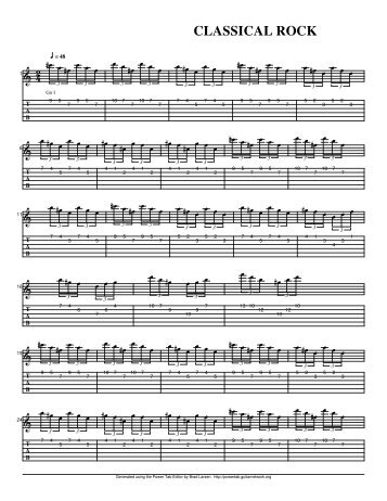 Classical Rock 1.ptb - Guitarjazztabs.com