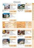 Unterkünfte 2010 - Tourismusverein Klausen - Page 3