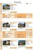 Unterkünfte 2010 - Tourismusverein Klausen - Page 4