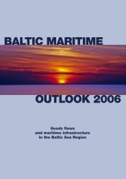 baltic maritime outlook 2006 - TEN-T Executive Agency - Europa