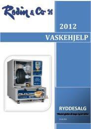 2012 VASKEHJELP - Rodin & Co AS