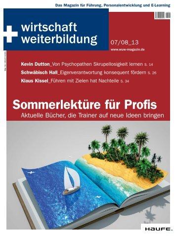 Sommerlektüre für Profis - Haufe.de