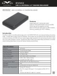 USB 3.0 EXTERNAL 2.5'' HDD/SSD ENCLOSURE - SilverStone - Page 3