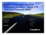 using VTG and Low Pressure EGR?