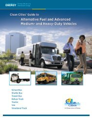 Guide to Alternative Fuel and Advanced Medium - Granite State ...