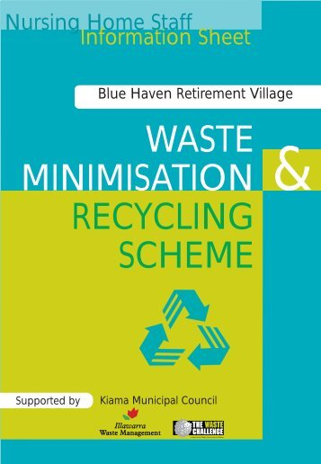 WASTE MINIMISATION RECYCLING SCHEME