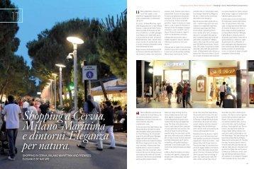 Shopping a Cervia, Milano Marittima e dintorni. Eleganza per natura.
