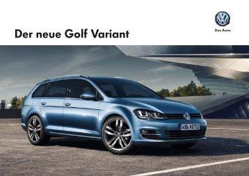 Golf Variant Katalog - Auto Senger