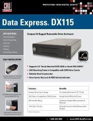 Data express® DX115 - Storesys