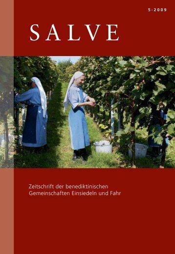 """Zeitschrift """"SALVE"""" - Wallfahrt Einsiedeln"""