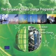Climate change policies ECCP2006.indd