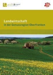 Landwirtschaft in der Genussregion Oberfranken - Das Fichtelgebirge