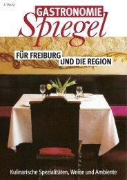 Spiegel Gastronomie und die reGion Für FreiburG - Kultur Joker