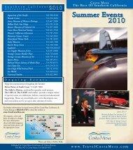 Summer Events - Costa Mesa