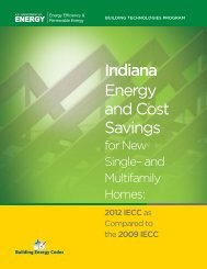 Indiana - Building Energy Codes