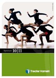 Spielzeit 10|11 - Theater Hameln - Stadt Hameln