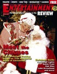 December, 2006 - Inland Entertainment Review Magazine