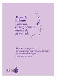 Rapport sur la morale laïque - VousNousIls.fr