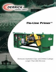 Flo-Line Primer™ - 1.7mb - Derrick Equipment Company
