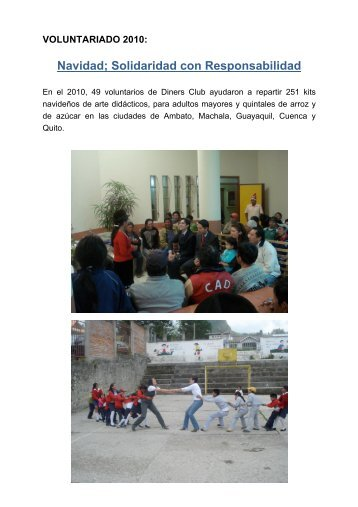 Voluntariado 2010.pdf - Diners Club del Ecuador