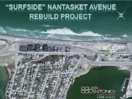 Surfside Nantasket Avenue Rebuild Project - Town of Hull