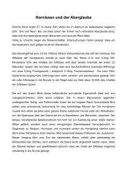 Hornissen und der Aberglaube - Bienenzuchtverein Sulzbach ...