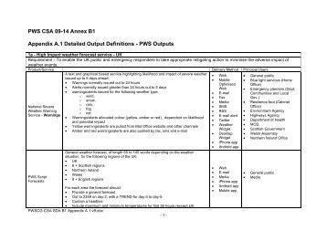 Public Weather (PDF, 246 kB) - Met Office